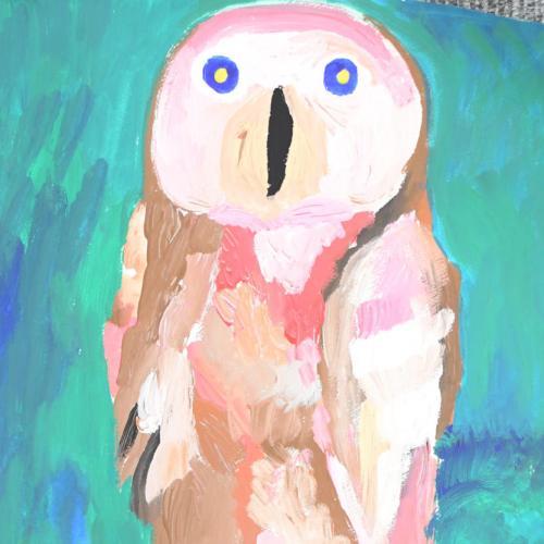 ひとりぼっちのフクロウ
