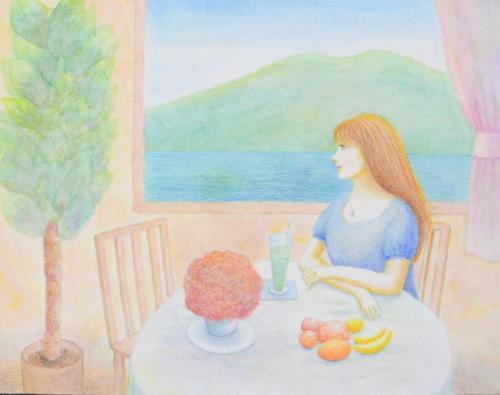 湖畔の別荘にて~お茶会までの時間~