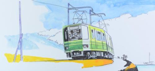 江ノ電  40年前の大ニュース!