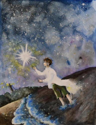星が降る夜に…