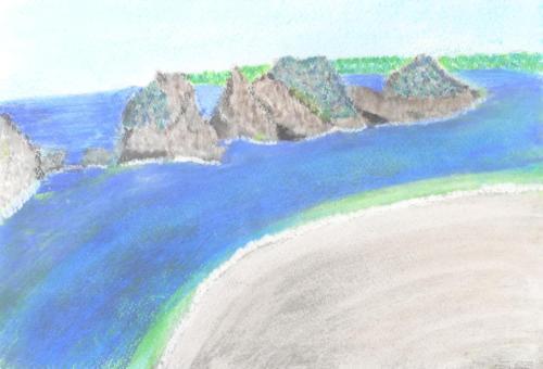 陸中海岸浄土ヶ浜