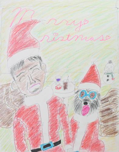 さんまとギルビーのクリスマスパーティー