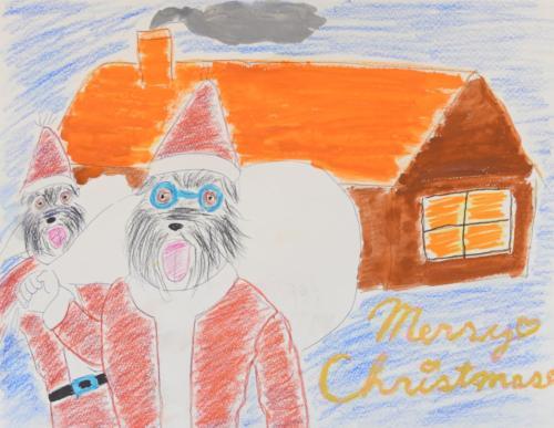 ムクとギルビーのクリスマスプレゼント大作戦