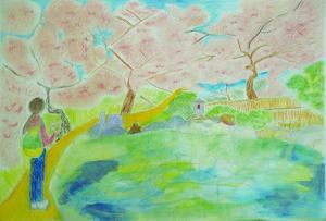 桜いっぱいの温泉を探して