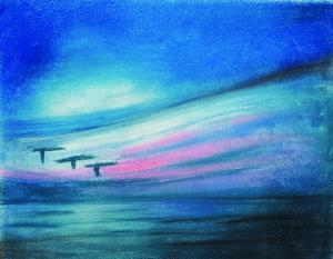 海と空の出会う所
