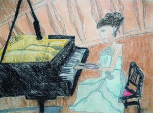 日々の憂鬱+ピアノ