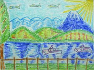 山と湖と船と飛行機と