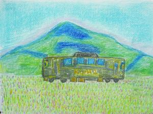 平原の電車