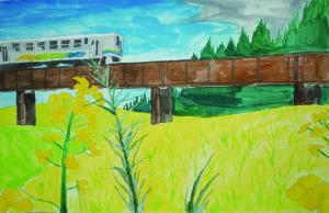くま川鉄道からの景色