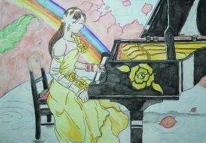 奏でるピアニスト