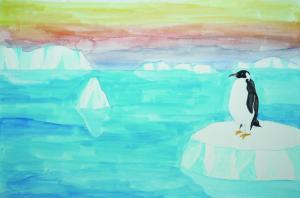南極大陸の散策
