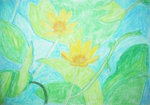 エデンの園春に咲く花