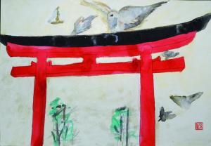 鎌倉祈りの道と動物たち
