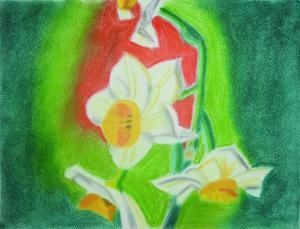 立春の水仙