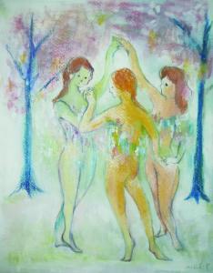 女神たちは春を踊る